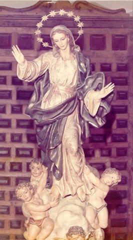 Virgen de la Asunción. Miraflores de la Sierra